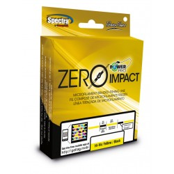 PACK TRENZADO ZERO IMPACT POWER PRO 0.36 MM / 0.41 MM 275 MTS AQUA GREEN/BLACK