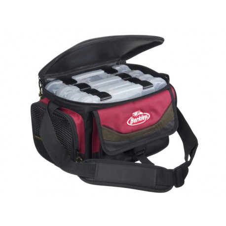 SYSTEMA BAG RED BLACK 4 BOXES I