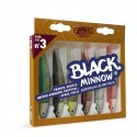 BLACK MINNOW 120 EUROPEAN COLOR PACK