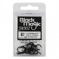 ANZUELOS BLACK MAGIC LIVEBAIT HOOK ECONOMY