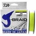 TRENZADO DAIWA J-BRAID X 4 270 MTS AMARILLO