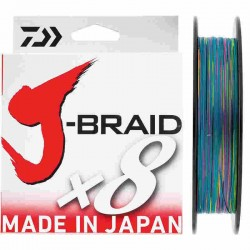 TRENZADO J-BRAID X 8 150 MTS MULTICOLOR 0.06 MM