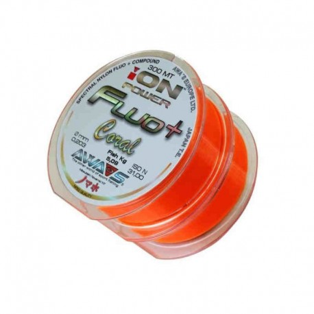 ION POWER FLUO CORAL 600 MTS