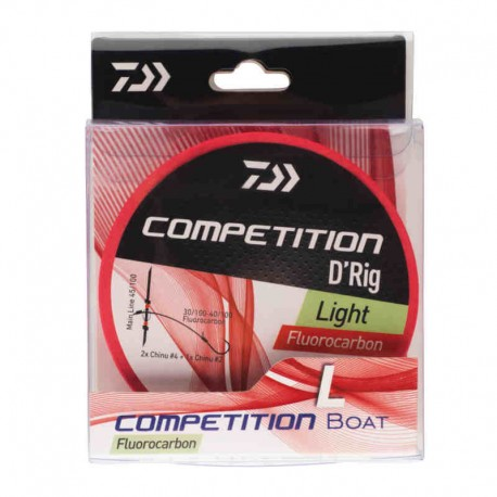 MONTAJE DAIWA BARCA COMPETICION LIGHT