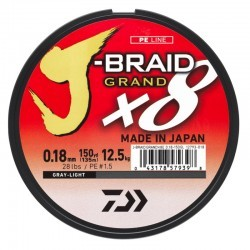 TRENZADO DAIWA J-BRAID GRAND X8 150 MTS