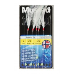 MUSTAD SABIKI RIGS FEATHER RIG