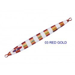 JIG PARA VERTICAL LONG SLOW RED GOLD