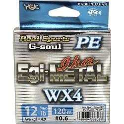 TRENZADO YGK G-SOUL EGI-METAL WX4  D700