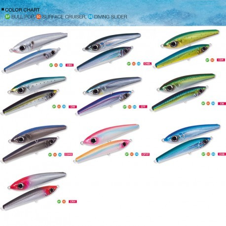 SURFACE CRUISER COLORES