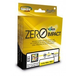 TRENZADO ZERO IMPACT POWER PRO 275 MTS 0.41 MM AQUA GREEN/BLACK